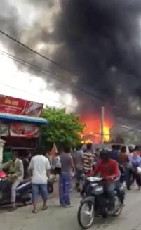Svay Pak Fire June 2015