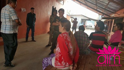 Suspected trafficker under arrest following brothel raid
