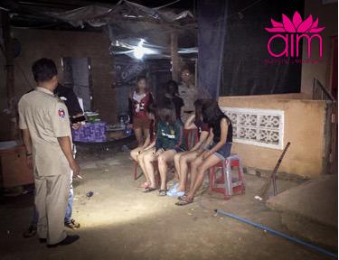 Girls rescued following raid