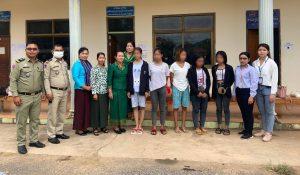 minor girls rescued